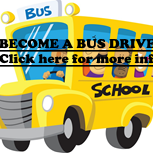 Become a Bus Driver. Click here for more info