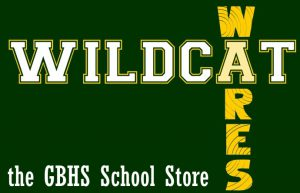 image reads: WILDCAT WARES the GBHS SCHOOL STORE