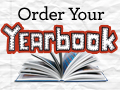 Image reads - ORDER YOUR YEARBOOK