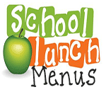 School Lunch Menus with apple