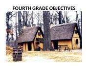 Fourth Grade Objectives