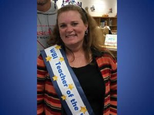 2016 teacher of the year Mrs.Boyce