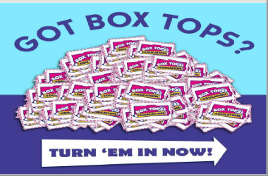 Got Box Tops Turn them in now