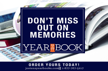 Don't miss out on the memories Yearbook