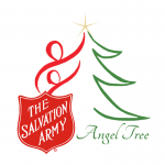 Angel tree logo with The Salvation Army logo