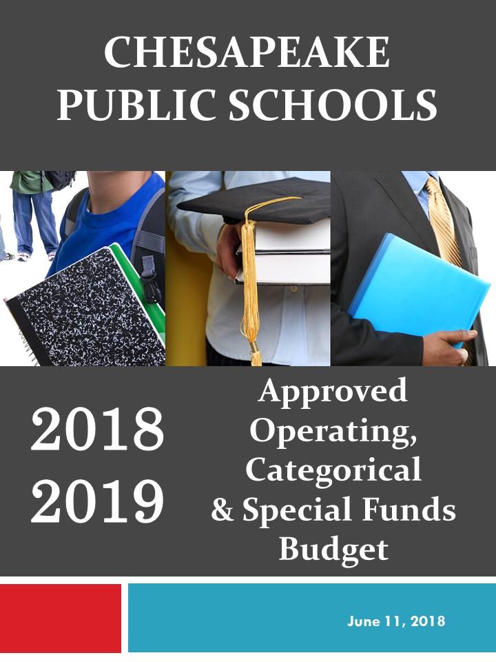 Budget – Chesapeake Public Schools 312 Cedar Road Chesapeake, VA