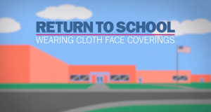 return to school wearing cloth face coverings