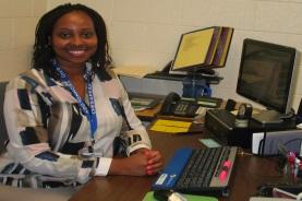 Guidance Director Laurra Edmonds-Young