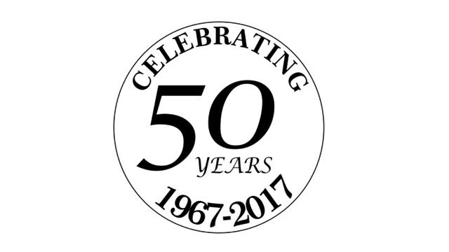 Celebrating 50 Years 1967-2017