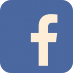 Image of the facebook icon - white letter f