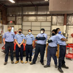 Auto Body students