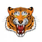 Oscar Smith High logo tiger