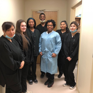 Dental Assistant students