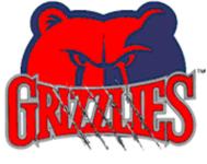 Grassfield Grizzlies logo