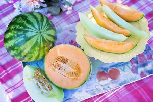 photo of watermelon and cantaloupe