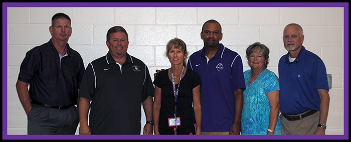 Physical Education Department/ Mr. Cox, Mr. Brumm, Ms. Pitt, Mr. Copeland, Ms. Capua, Mr. Polk Not Pictured: Mr. Forrest