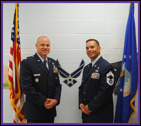 Major Pearmen, Chief Pabon (JROTC)