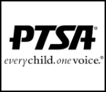 PTSA logo every child. one voice