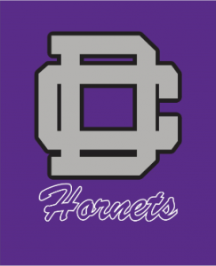 Spirit wear DC on purple