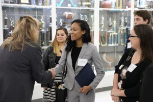 New teacher candidates visit Chesapeake Public Schools.