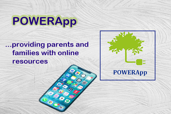 POWERApp providing parents and families with online resources
