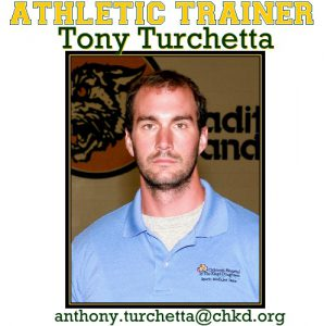 Photo of the Athletic Trainer at GBHS - Tony Turchetta