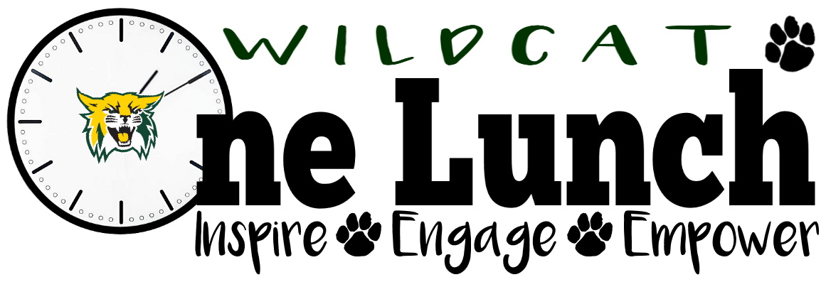 Wildcat One Lunch (logo) - Inspire, Engage, Empower