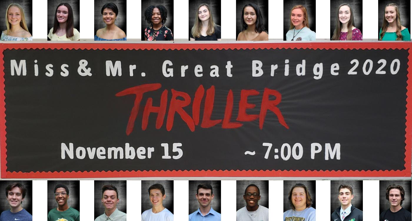 Miss & Mr. GB Pageant @ Great Bridge High School Auditorium