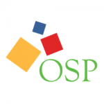 Three Squares with the initials: OSP.