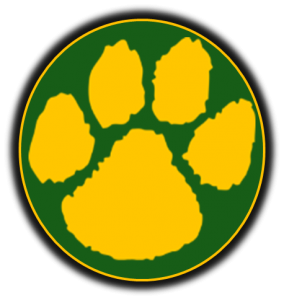 Green and Gold Wildcat Paw