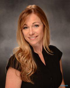 Assistant Principal, Mrs. Delisle smiling.