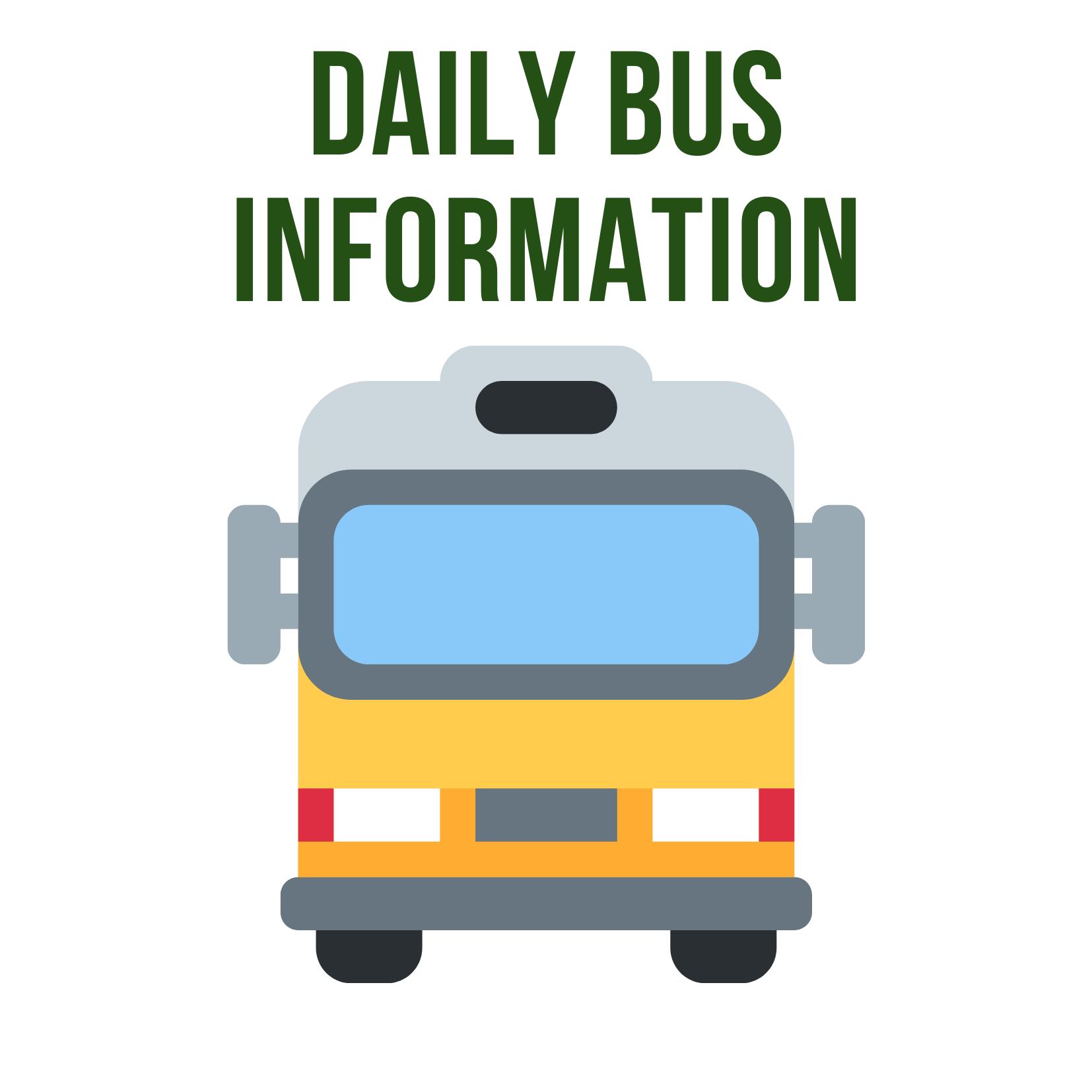 School Bus Information. Picture of School Bus
