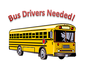 Bus Drivers Needed Clipart of a Yellow school bus
