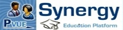 Synergy Parent VUE education platform with graduation cap