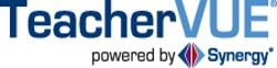 TeacherVUE Powered by Synergy rectangular logo