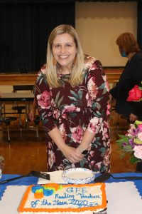 Mrs. Kristin Anthony - GFE Reading Teacher of the Year