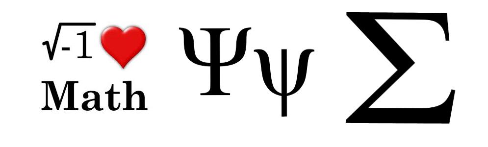 math symbols logo header