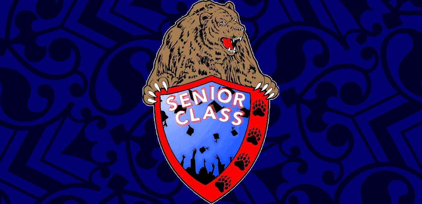 Senior Class - Bear and Coat of Arms with Paws