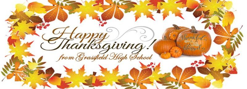 Happy Thanksgiving from gfhs