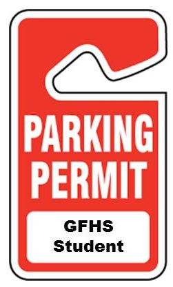 gfhs student parking pass image