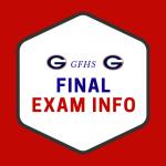 gfhs final exam information icon