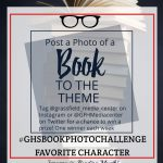 post a photo of a book to the theme listed below- #GHSbookphotochallenge- January is Reading Month