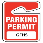 parking permit gfhs - hangtag icon