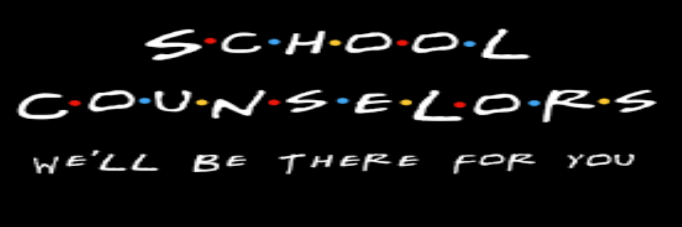 school counselors are here for you icon banner