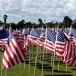 field of valor flag display