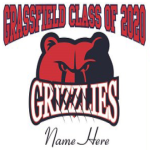 grassfield high school grizzlies yard sign class of 2020