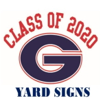 class of 2020 yard signs icon