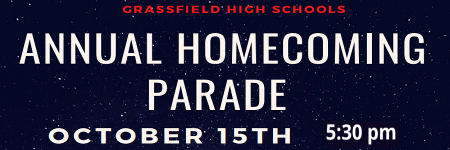 grassfield high school annual homecoming parade oct 15 9pm