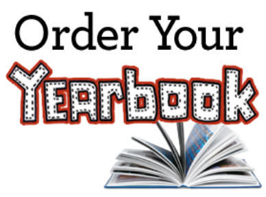 Order Your Yearbook with a stock image of a yearbook