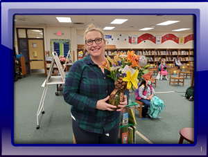 Kristy Kline Reading Teacher of the Year